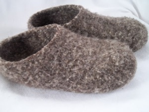 Felt Clogs - knitting