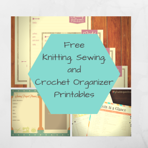 Free Sewing, Knitting, and Crochet