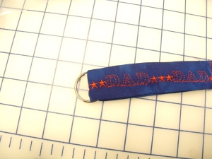 Finished Key Fob