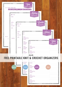Knitting and Sewing printable