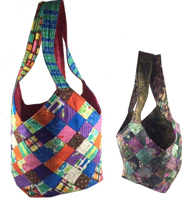 The Mondo and Midi bags.