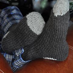 worsted socks