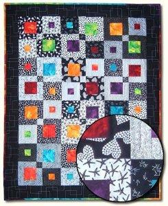 square dancing quilt kit